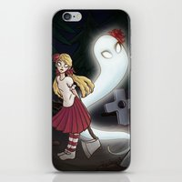 abigail larson iPhone & iPod Skins featuring Wendy and Abigail by Rastea