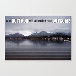 OUTLOOK Canvas Print