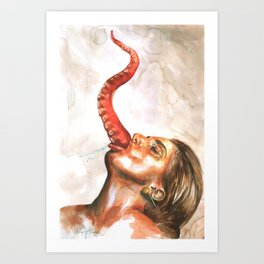 gagachella Art Print