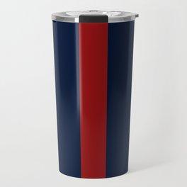 Navy Red Travel Mug