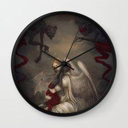 Sancti diabolo Wall Clock