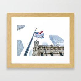 Chicago Fog Framed Art Print