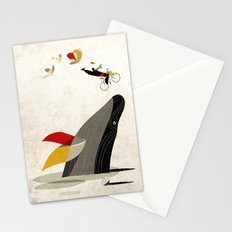For a breath, the butterflies Stationery Cards