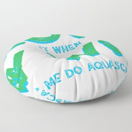 Aquascaping for Fathers and Husbands Floor Pillow
