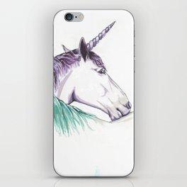 Unicorns in love II iPhone Skin