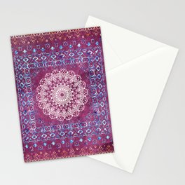 Old Bookshop Magic Mandala Stationery Cards