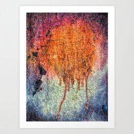 Celestial Colors Art Print