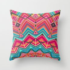 picchu pink Throw Pillow