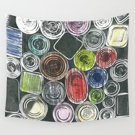 The painter's stuff Wall Tapestry