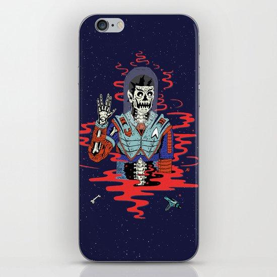 Dead Spock iPhone & iPod Skin