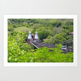 Puente de Occidente (Western Bridge) Art Print