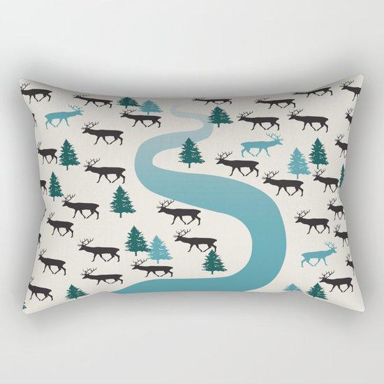 Forest River Rectangular Pillow