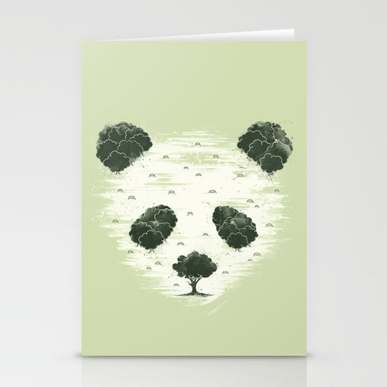 Deforestation Stationery Cards