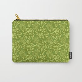 Neo Memphis Coordinate Yellow Green Carry-All Pouch