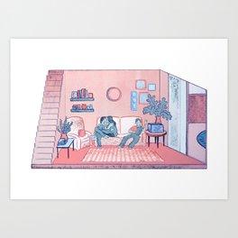 The Lounge Art Print