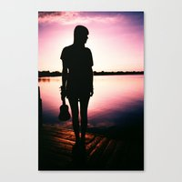 sister Canvas Prints featuring Sister by Zac Thompson