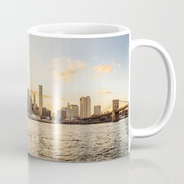 New York skyline at sunset Coffee Mug