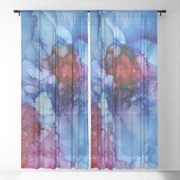 Cosmic Jewel Sheer Curtain