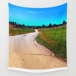 Uneven relations Wall Tapestry