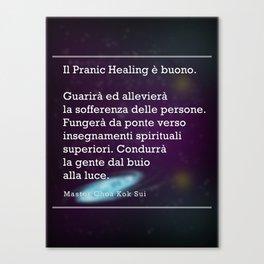 Il Pranic Healing è buono Canvas Print