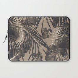 Tropical Jungle Leaves Dream #5 #tropical #decor #art #society6 Laptop Sleeve
