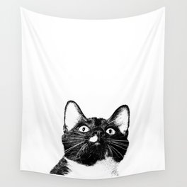 Louie The Cat Wall Tapestry
