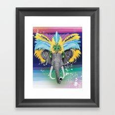 Life is a Carnival Framed Art Print