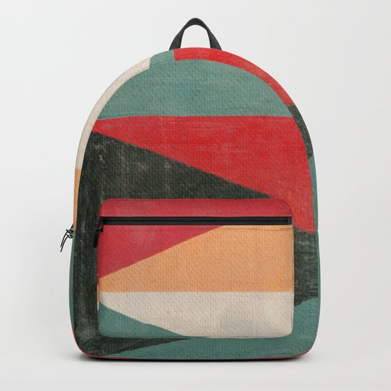 Geometric Thoughts 11 Backpack