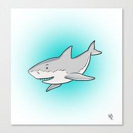 Shark Shark Shark Canvas Print