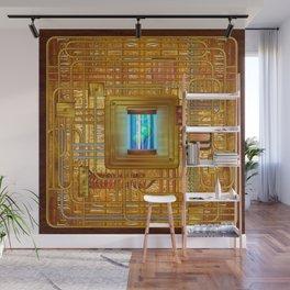 Steampunk Circuit Board #1138 Wall Mural