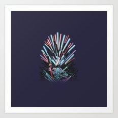 Throne Wars Art Print