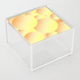 Sunny Bubbles Acrylic Box