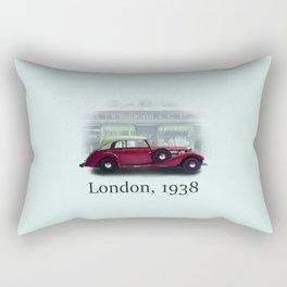 London 1938 Rectangular Pillow
