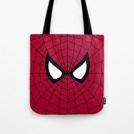 Spider man superhero Tote Bag