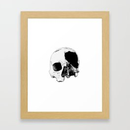 In Thee Dark We Live Framed Art Print