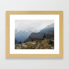 Valle Verzasca Framed Art Print