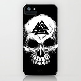 ValknutR Skull iPhone Case