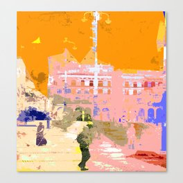 Town Hall Square Canvas Print
