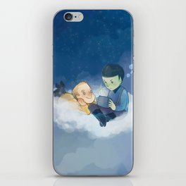 On the cloud iPhone Skin
