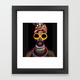 'Black Gold' Framed Art Print