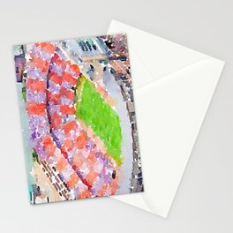 Neyland Stadium - Knoxville Tennessee - Watercolor Print Stationery Cards