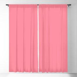 Paradise Pink Solid Matte Colour Blocks Blackout Curtain
