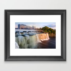 From Winter to Summer: The Waterfalls of Ottawa Framed Art Print