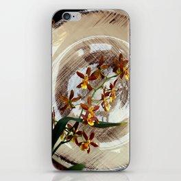 A Brushstroke Of Orchid Genus iPhone Skin
