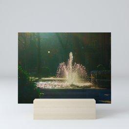 The Fountain of Apollo (soft) Mini Art Print