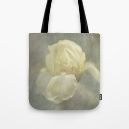 Pale Misty Iris Tote Bag