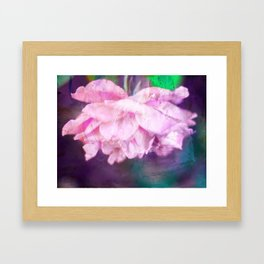 Colored Purple Framed Art Print