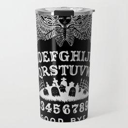 Ouija Board Black Travel Mug