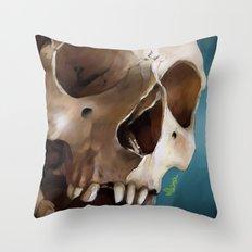 Skull 2 Throw Pillow