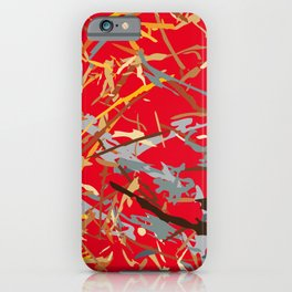 chaos structure iPhone Case